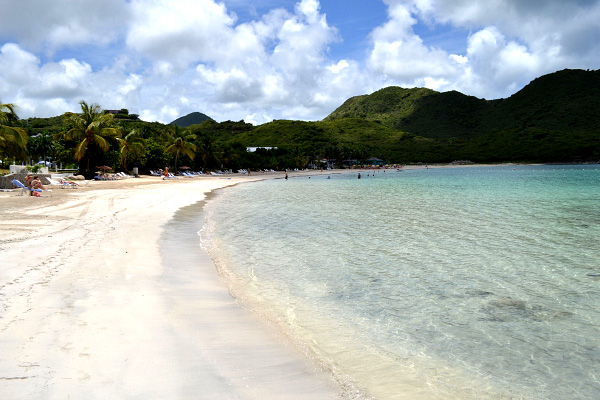 Beach in the Carribean