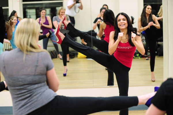 Bethenny Frankel's stiletto workout