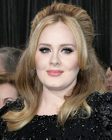 Adele at the 2013 Oscars