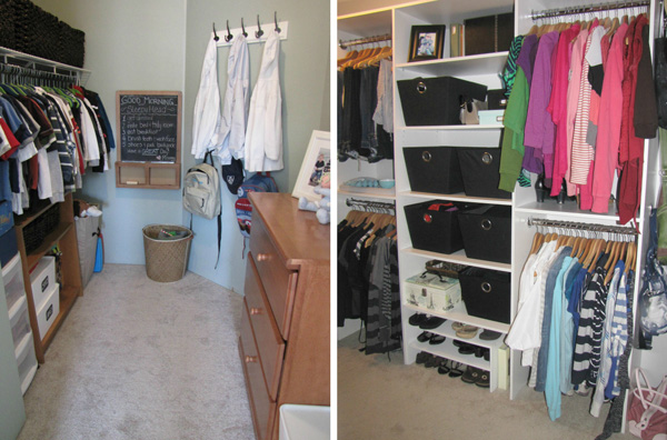 Clean and Scentsible -- closet