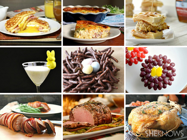 9 creative easter recipes Fun easter brunch ideas