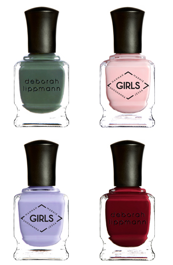 Girls' nail polish collection
