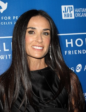 Demi Moore in December 2012.