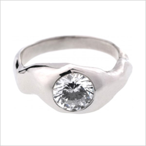 Diamond ring from Bario Neal