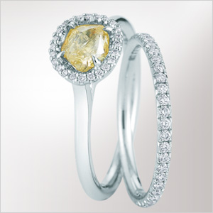 Diamond ring from Diamond In The Rough