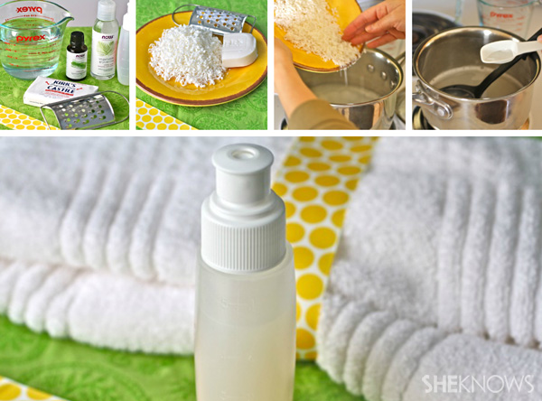 DIY Lemongrass Body Wash