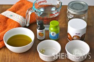 DIY Moisturizing Citrus Hand Cream