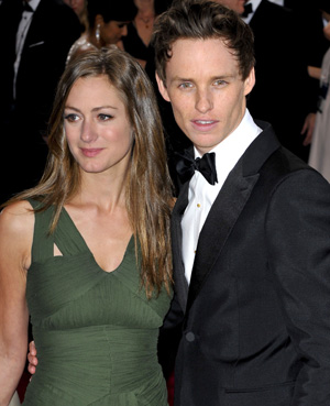 Eddie Redmayne with girlfriend Hannah
