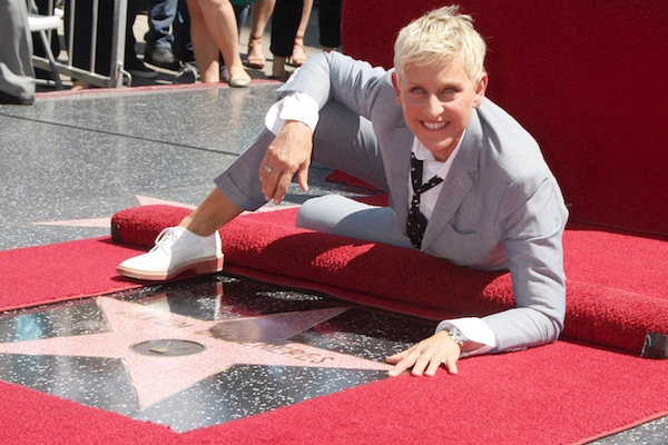 Ellen is sticking around