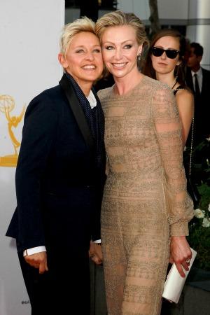 Ellen DeGeneres blogs for gay marriage
