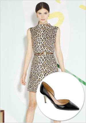 Animal Print Dress on Fab Dresses To Wear To A Spring Wedding  With Heels To Match
