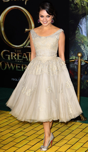 Mila Kunis at the OZ The Great And Powerful