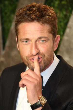 Gerard Butler hooked up with reality star