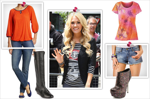 Get Carrie Underwood's style