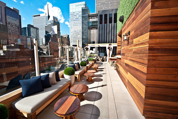 Haven Rooftop at The Sanctuary Hotel NYC