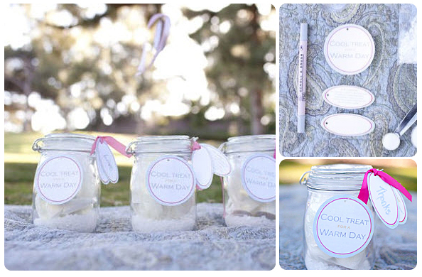 Homemade Wedding Favors Do It Yourself Weddings  Caroldoey