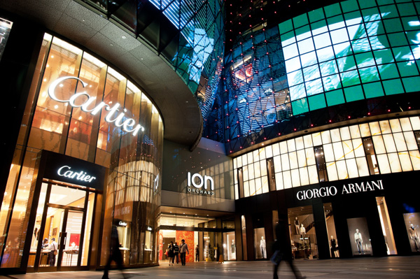 ION Orchard shopping mall