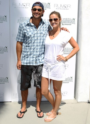 The Bachelor Jason Mesnick and wife Molly Mesnick.
