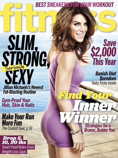 Jillian Michaels on Fitness magazine April 2013