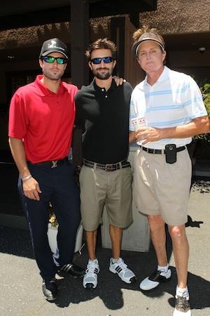 Bruce, Brandon and Brody Jenner