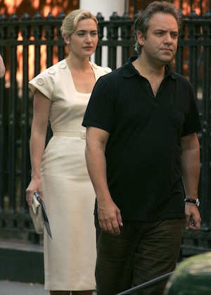 Kate Winslet and ex-husband Sam Mendes