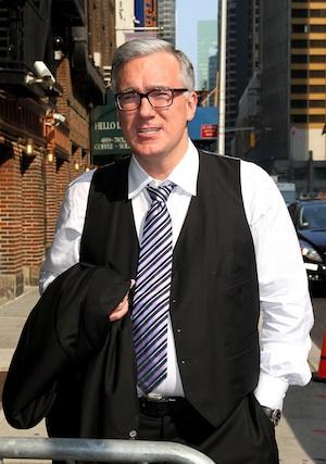 Keith Olbermann in New York City.