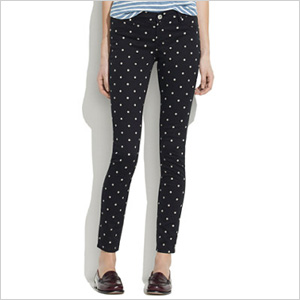 Polka dot jeans by Madewell. (Madewell, $88)