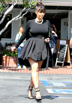 Kim Kardashian weight gain clarified: