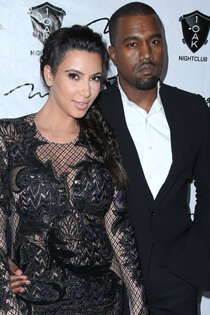 Kim Kardashian and Kanye West reportedly pick a baby name
