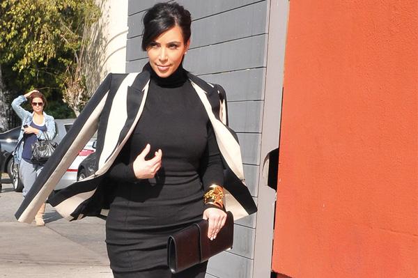 No maternity wear for Kim Kardashian