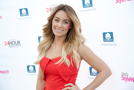 Lauren Conrad at the Cotton 24 Hour Runway Show