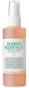 Mario Badescu's Facial Spray.