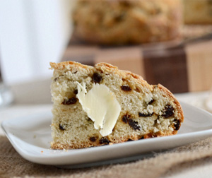 Crock pot irish soda bread