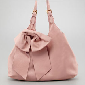 RED Valentino Large Bow Hobo Bag