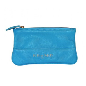 R.B. of McD Wristlet in diamond + marine
