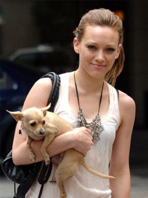 Hilary Duff and Lola