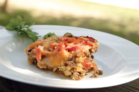 Chilies and chesse corn casserole