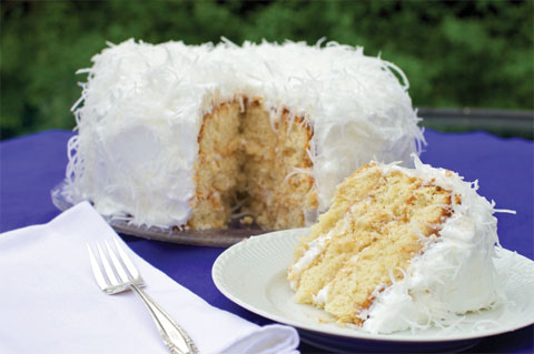 old fashioned southern coconut cake takes anywhere from three to seven ...