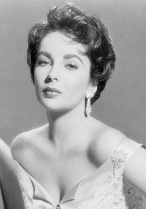 Elizabeth Taylor circa 1950 WENN