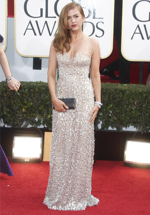 Isla Fisher Golden Globes
