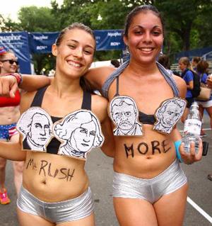 Mount Rushmore underpants run