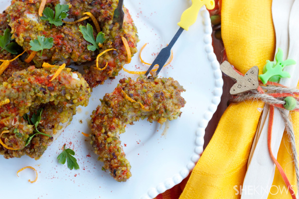 Pistachio crusted shrimp with paprika recipe