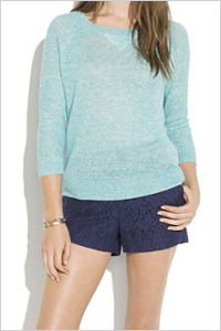 lace shorts (Madewell, $88)
