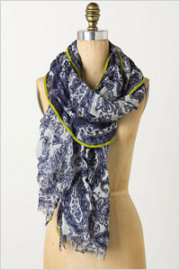 spring-inspired scarf (Anthropologie, $48)