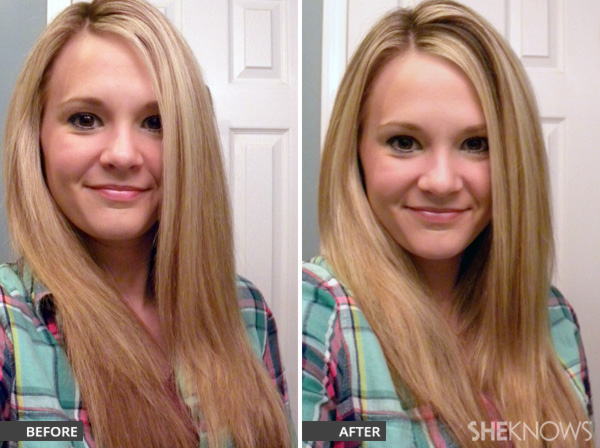 Rejuvenate your tresses before and after photos
