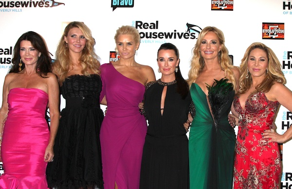 The cast of Real Housewives of Beverly Hills