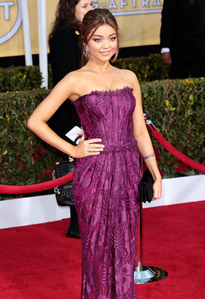 Sarah Hyland at the 2013 SAG Awards