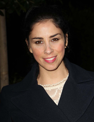 Sarah Silverman at a benefit