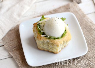 A delicious brunch or appetizer recipe