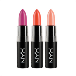 Spring pick: Matte Lipstick by NYX, (NYX Cosmetics, $6)